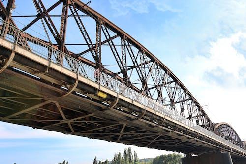 Immagine gratuita di ferro, ferrovie, ponte, praga