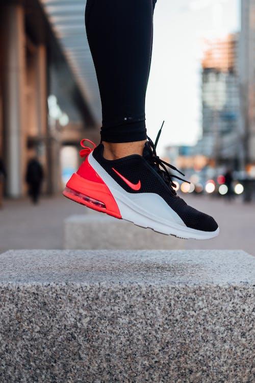 Person Wearing Nike Shoe