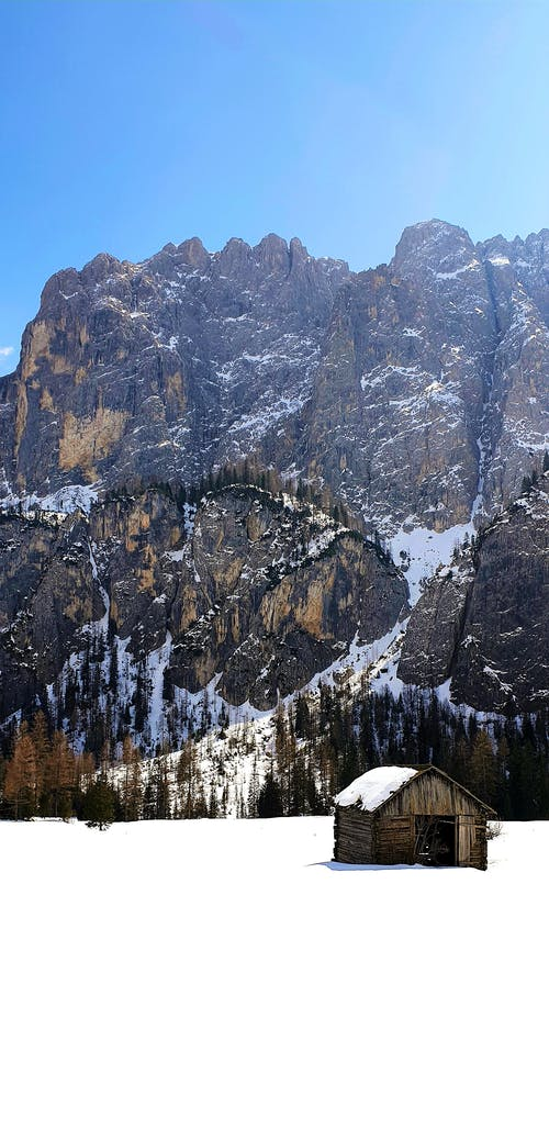 Free stock photo of alta badia, dolomites, hut, italy