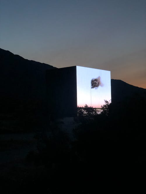 Free stock photo of desert, palm springs, screen, X