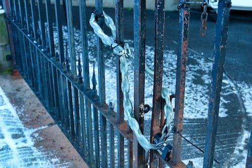 Photos gratuites de chaîne, fermer à clé, hiver, neige