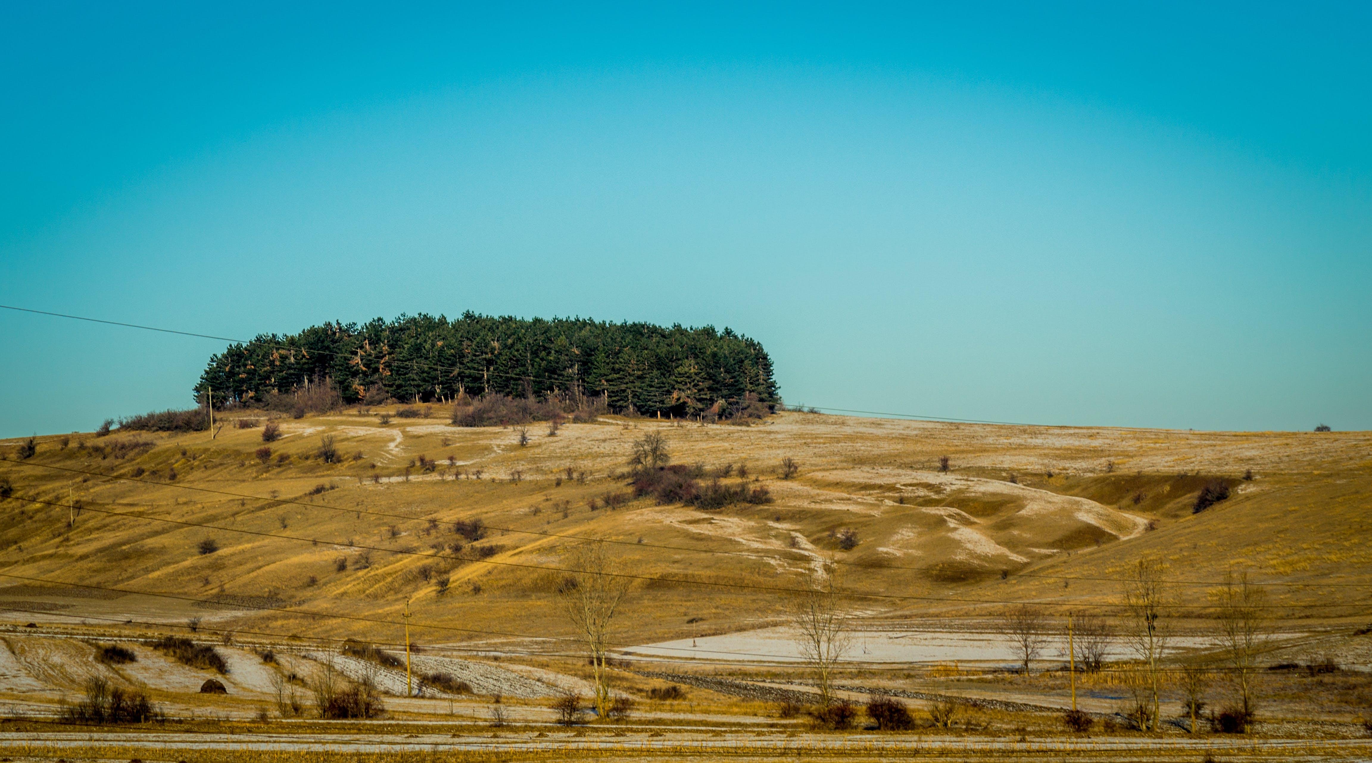Free stock photo of sky, blue, land, #landscape