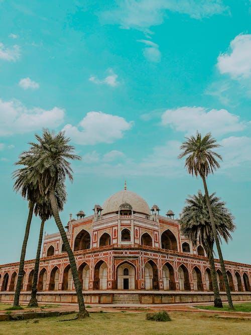 Ilmainen kuvapankkikuva tunnisteilla arkkitehtuuri, delhi, hautakammio, humayunin hauta