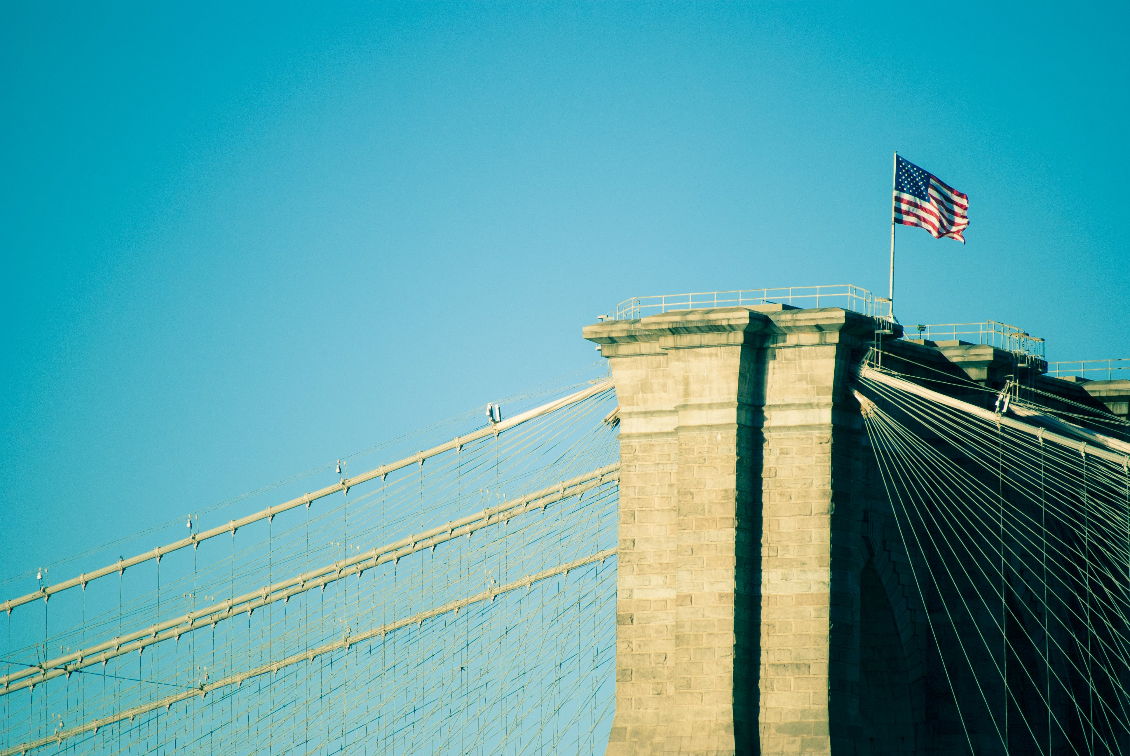 Free stock photo of united states of america, flag, blue sky, filters