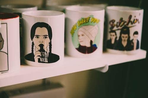 White and Black Ceramic Mug