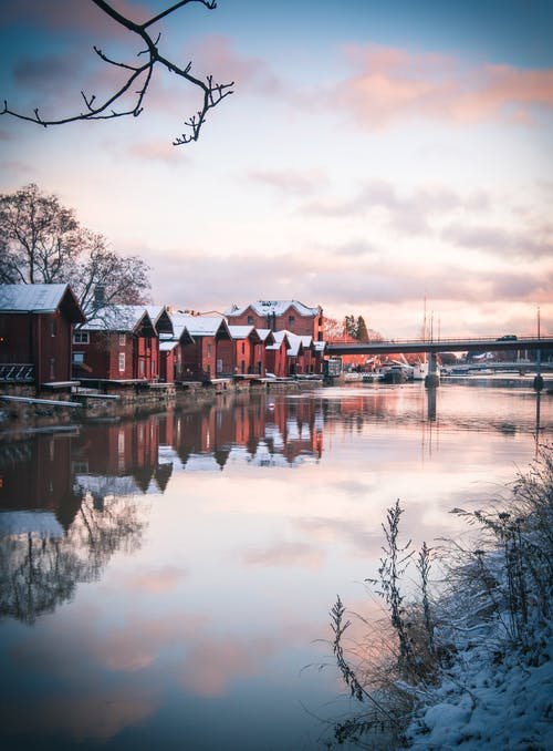 Free stock photo of cloudy day, cold, downtown, Finland