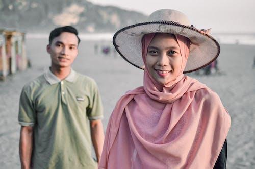 Women's Pink Hijab Veil