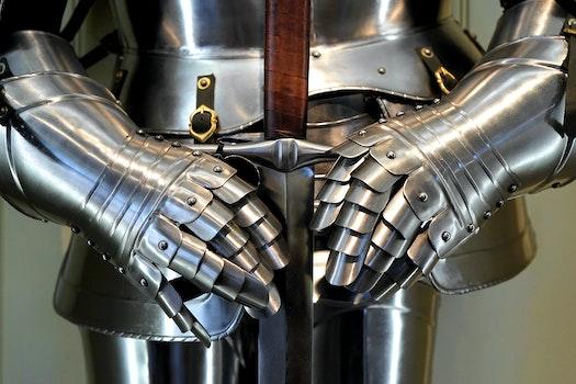 Free stock photo of hands, metal, figure, robot