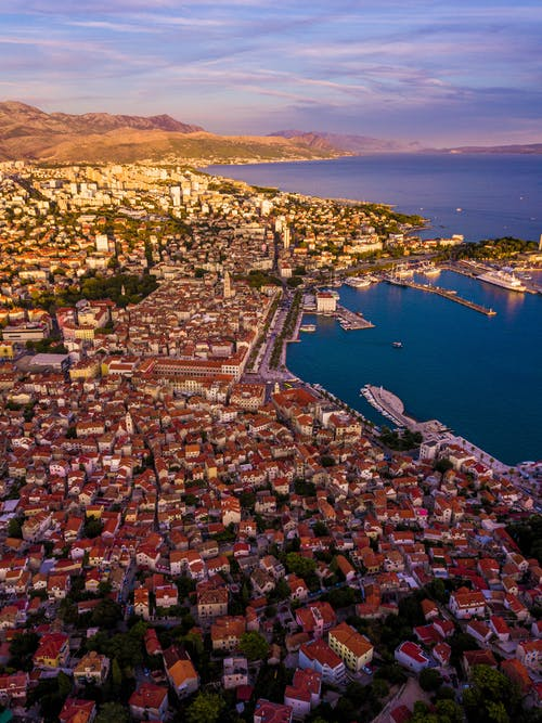 Gratis stockfoto met dji mavic pro, drone fotografie, Kroatië, spleet
