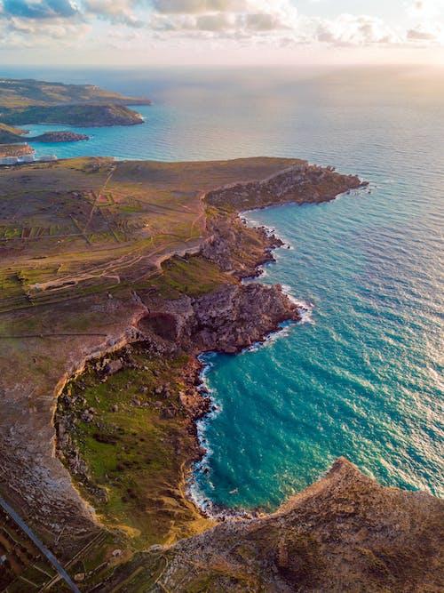 Gratis stockfoto met dji mavic pro, drone fotografie, eiland middellandse zee, kust