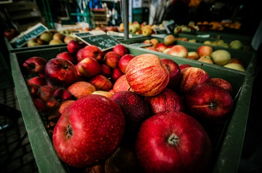Free stock photo of healthy, fruits, blur, market