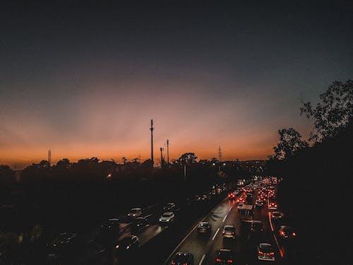 Free stock photo of background image, beautiful sky, Beautiful sunset, city