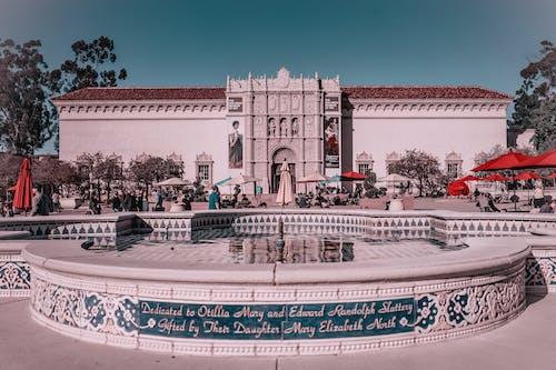 Free stock photo of art museum, balboa park, san diego