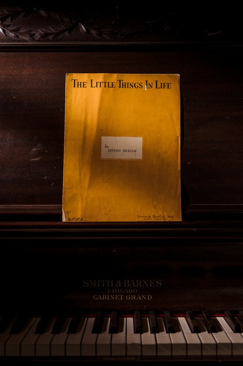 The Little Things in Life Song Book
