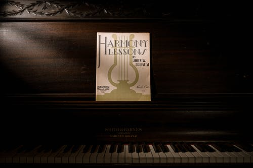 Harmony Lessons Book on Piano
