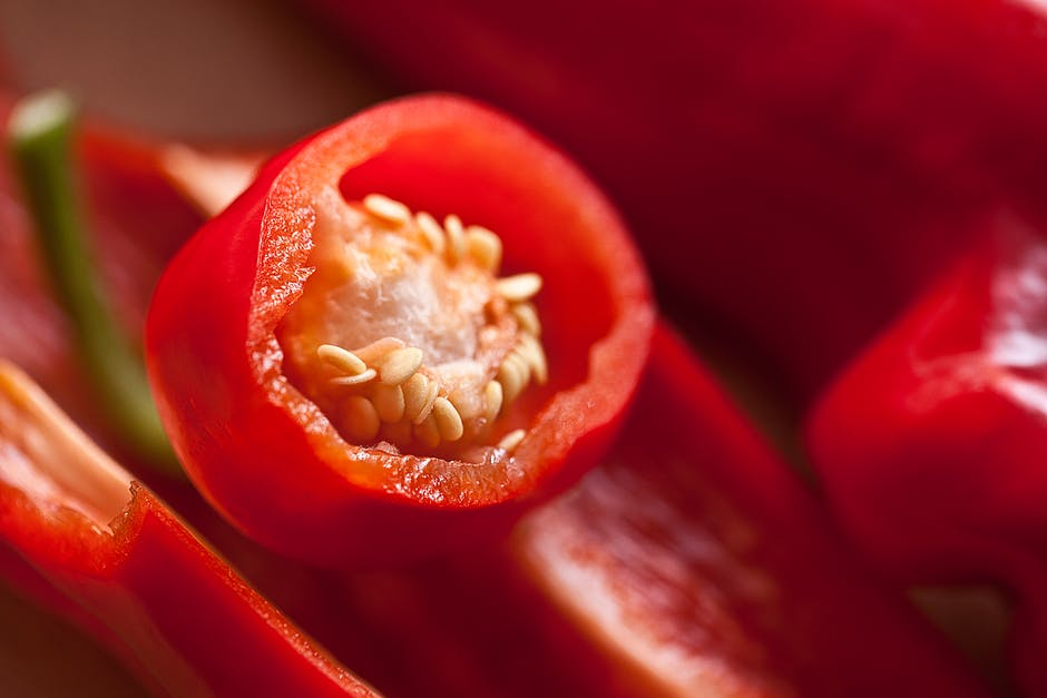 Red Chili Macro Photography