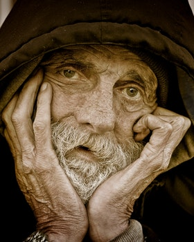 Free stock photo of man, person, face, old