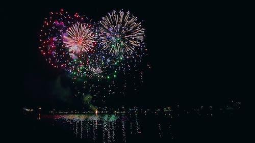 Foto stok gratis 2020, belo horizonte, kembang api, selamat tahun baru