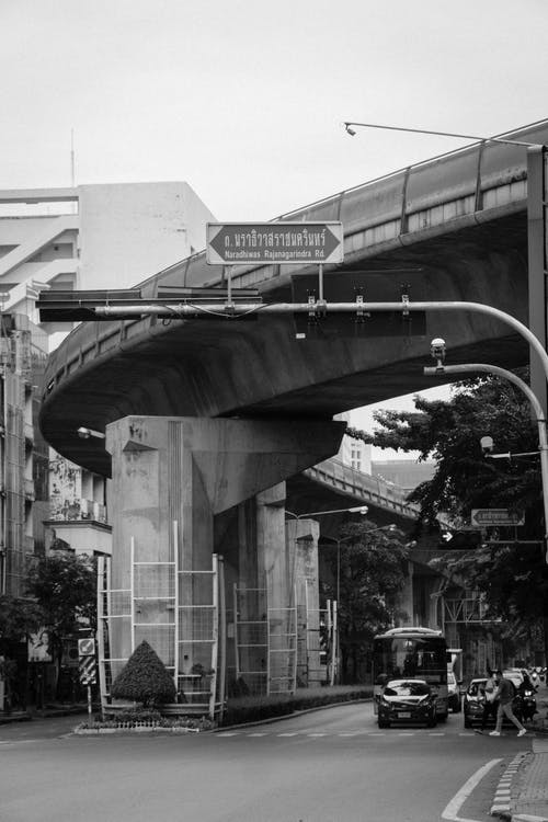 Ilmainen kuvapankkikuva tunnisteilla Bangkok, katu, katukuvaus, liikenne