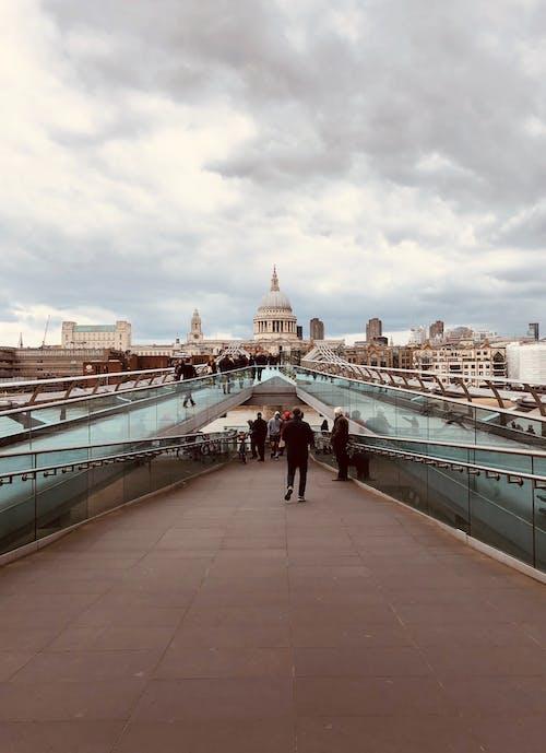 Free stock photo of london, millenium bridge