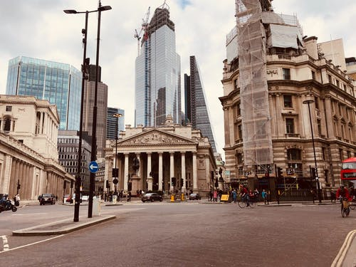 Free stock photo of bank of london, london