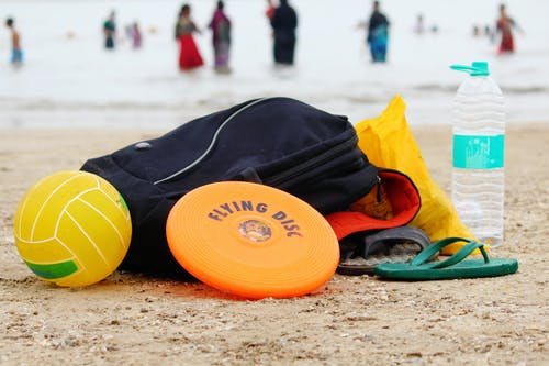 水, 海灘, 球, 飛盤 的 免費圖庫相片