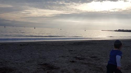 海洋。太平洋。聖巴巴拉, 海灘 的 免費圖庫相片