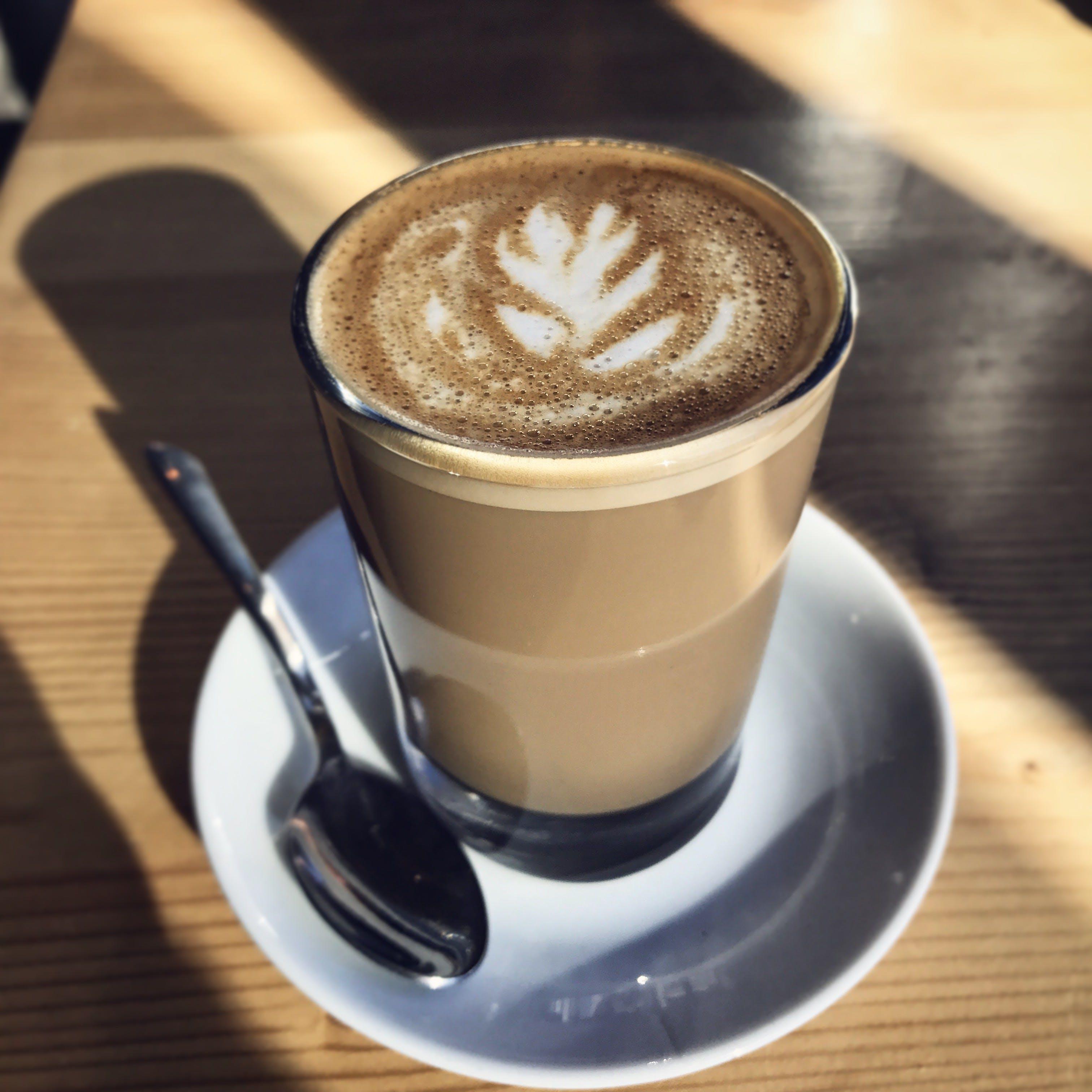 artistic, beverage, café