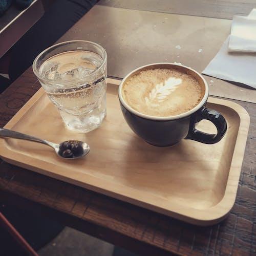 Foto stok gratis espreso, kedai kopi, kopi, latte