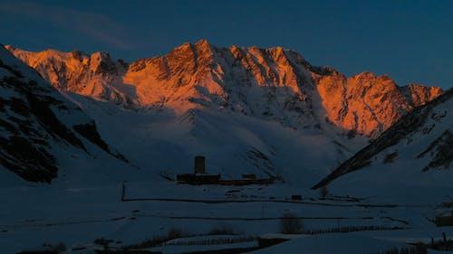 Základová fotografie zdarma na téma mt shara, západ slunce