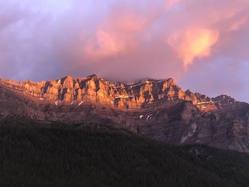 夕暮れ, 夜明け, 屋外, 山脈の無料の写真素材