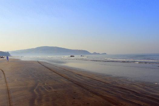 Free stock photo of sea, sky, beach, blue