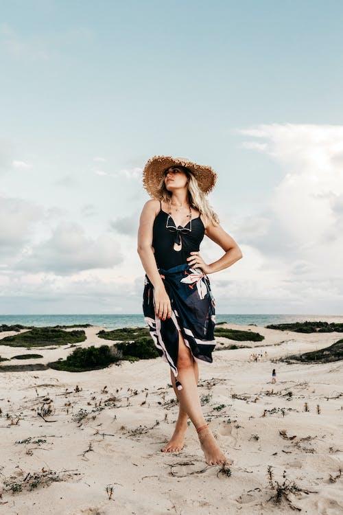 Photo Of Woman Wearing Sunhat