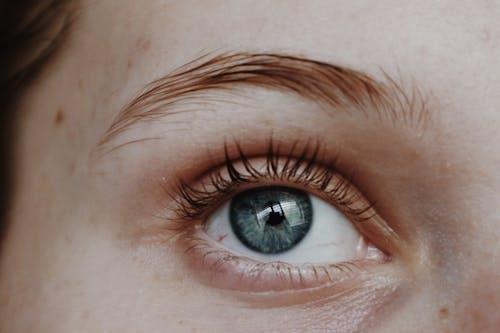 Person Mit Blauen Augen
