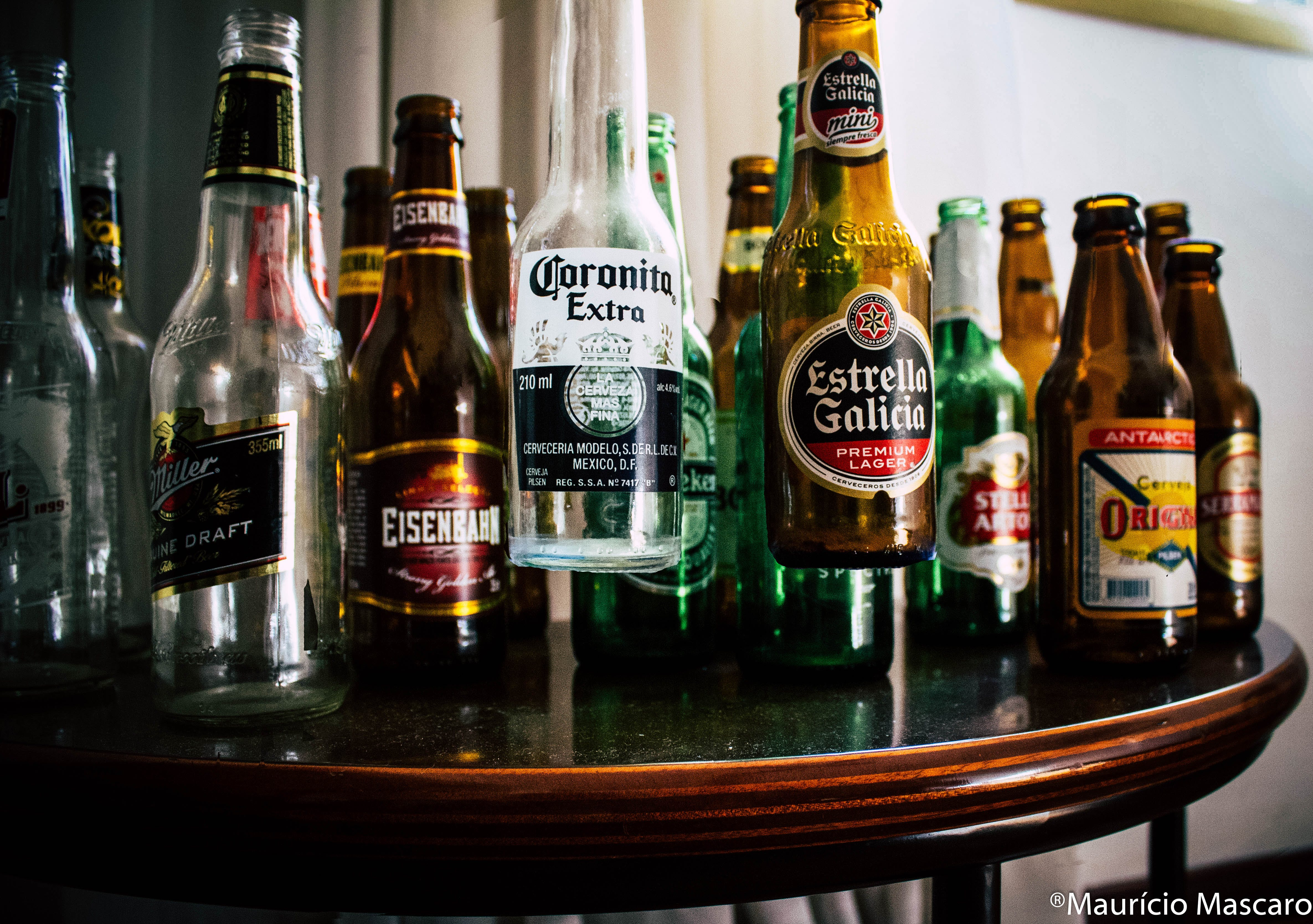 Free stock photo of bottles, beer, colors, levitation