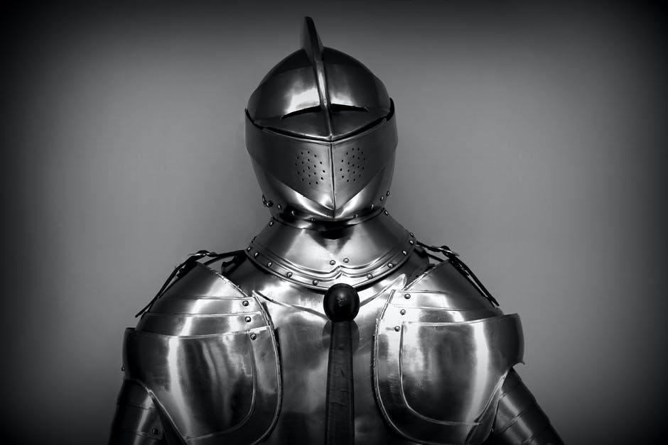 antique, armor, black-and-white