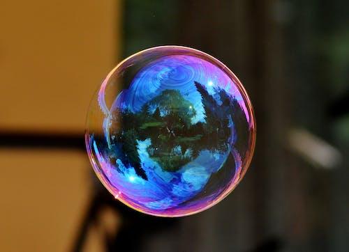 Foto d'estoc gratuïta de aigua sabonosa, bola, bombolla, bombolla de sabó
