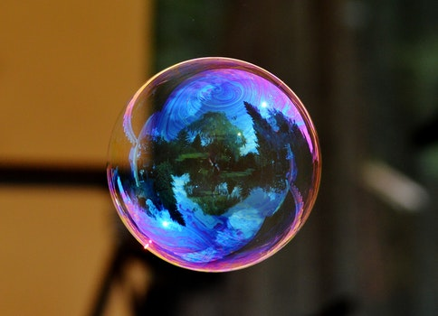 Image of a Floating Bubble