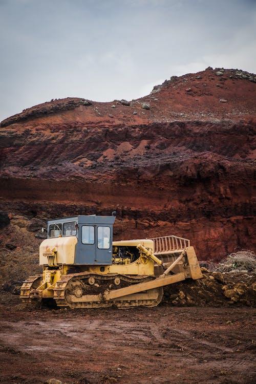 Photo of Excavator on Soil