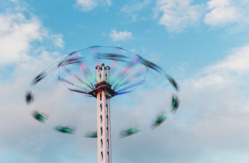 Free stock photo of amusement park, amusement ride, fun