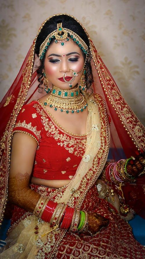 Free stock photo of bridal, bridal photography, indian bride, photography
