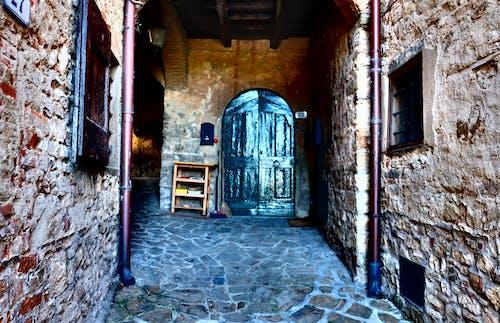 Fotos de stock gratuitas de Italia, puerta azul, toscana
