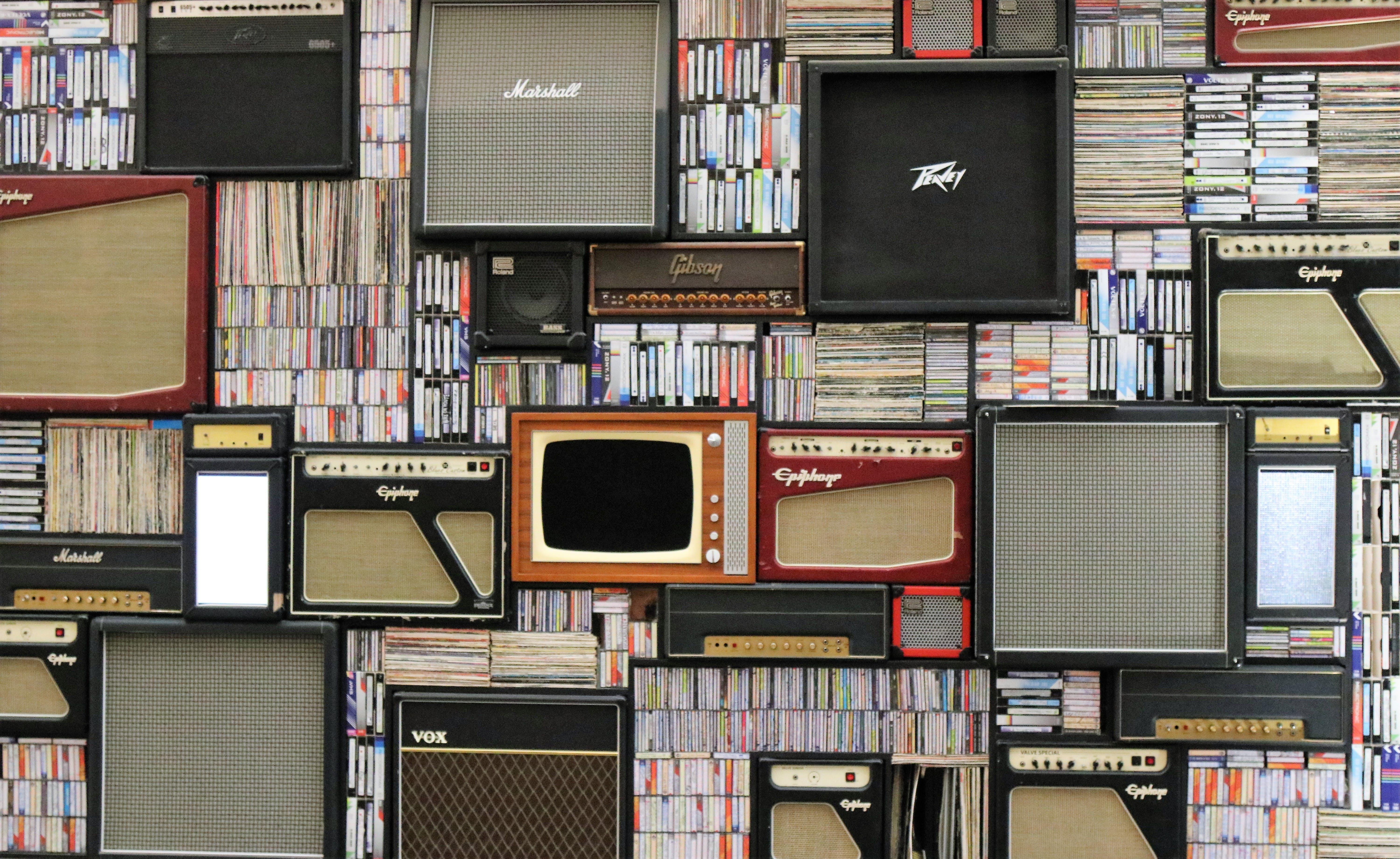 Assorted Guitar Amplifier Lot