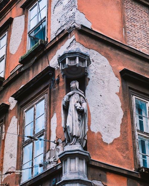 Immagine gratuita di abbandonato, angelo, architettura, Budapest