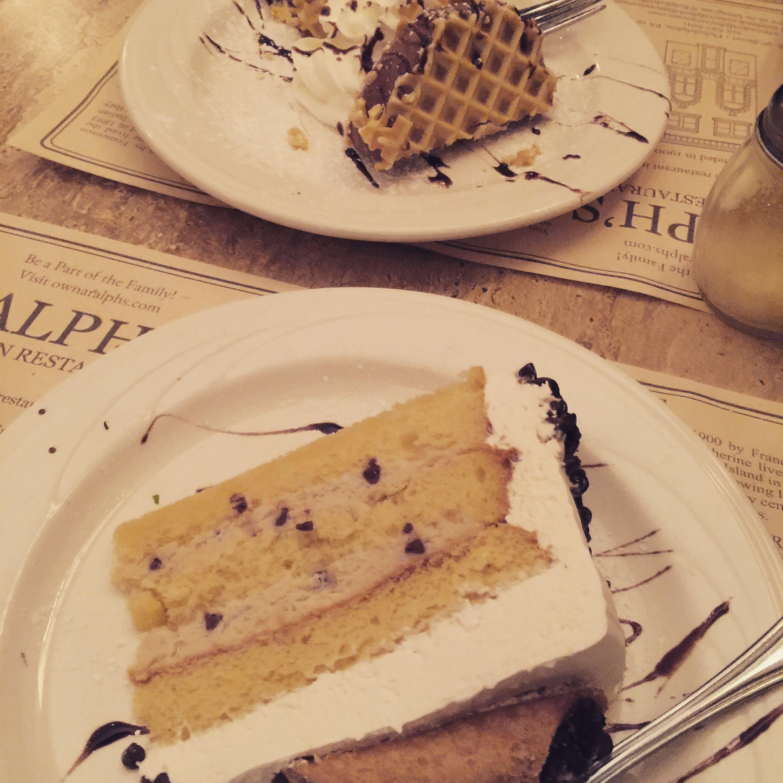 Kostenloses Stock Foto zu desserts, italienisch, kuchen, restaurant