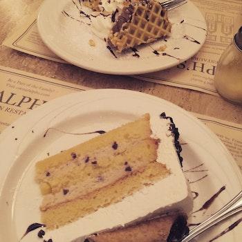 Free stock photo of italian, restaurant, cake, desserts
