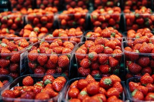 Imagine de stoc gratuită din abundență, bomboane, căpșuni, containere