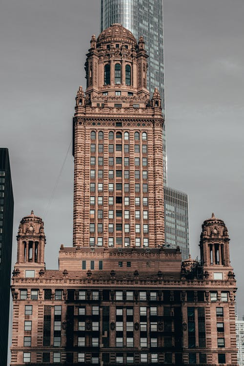 Historic Building In Chicago