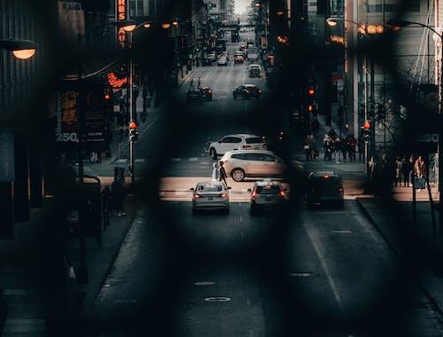 Free stock photo of city street