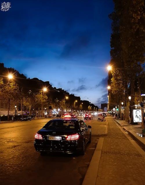 Kostenloses Stock Foto zu #mobilechallenge, blaue himmel, champs-Élysées, paris
